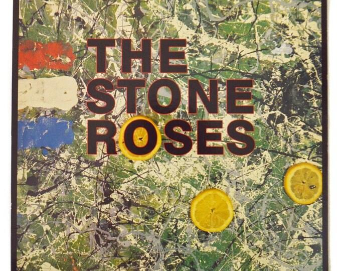 Vintage 80s The Stone Roses Self-Titled Debut Album Record Vinyl LP