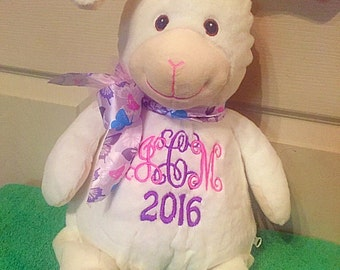 Personalized bunny perfect easter gift.
