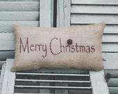 Christmas Pillow Decor Pillow Merry Christmas Christmas Pillow