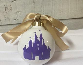 Disney christmas ornament/disney princess christmas/mickey mouse ornament/custom disney ornament