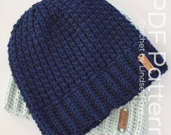 The Not Knit Beanie Pattern