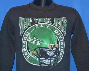 90s New York Jets Football Sweatshirt Youth Large