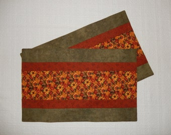 Fall Flora Placemats, Set of Two