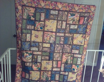 Oriental Quilt/Wall Hanging