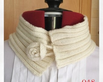 Warm and Cosy Neck Wraps - Last One Of This Type! Neck Wrap, Scarf, Alternative Scarf, Spring Accessory, Cream Neck wrap, Cream Neck Cosy