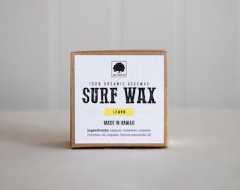 Organic Beeswax Surf Wax // Handmade in Hawaii // Hawaiian Surf Wax // Gifts for Her // Gifts for Him // Surfer // Surfer Girl