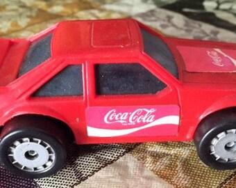 Coca Cola 1987 Remco plastic car