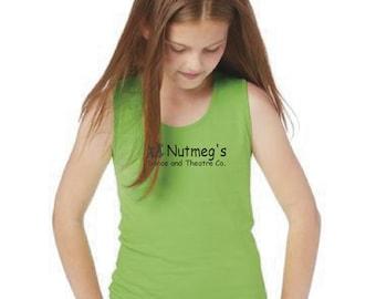 Nutmeg's Girls Jersey Tank Top