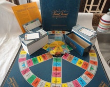 Trivial Pursuit Board Game Master Game Genus Edition Vintage Party Game Family Night Game