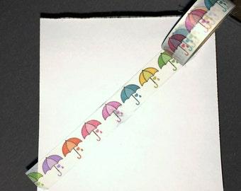 Umbrella Washi Tape WT1032UMB