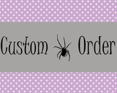 Reserved Custom Listing - Tracy
