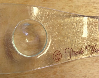 Personalized glass plates