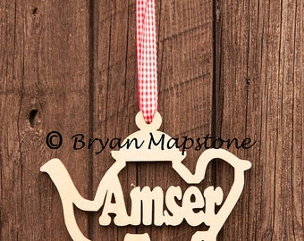 Amser te (Tea Time) hanging plaque