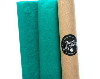Teal Tissue Paper (20 or 40 Sheets) 500mmx760mm