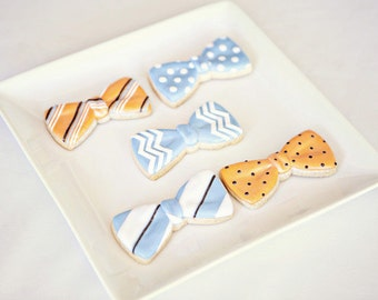 Christol and Co Bowtie Cookies -Made to Match Coordinating Cookies