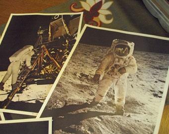 Colorama photos of Apollo 11 on the Moon, 1969