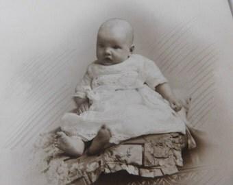 Vintage Baby Photo - Ireland Early 1900's
