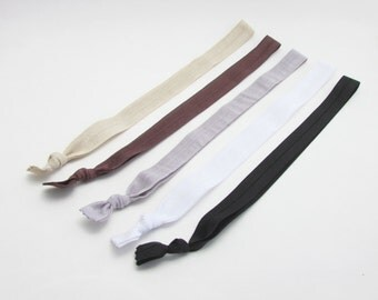Hair Bands for Women - Neutrals - Hair Bands - Set of 5