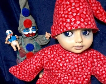 Stephen With Baby Gacy & Mini Pogo Musical Send In The Clowns Dressed For Bed Scared Undead Serial Killer Culture Trio Of Biohazard Babies