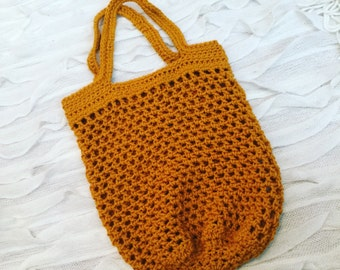 Tote bag, market tote, crocheted tote bag, crocheted bag, market bag, crochet bag, large tote bag