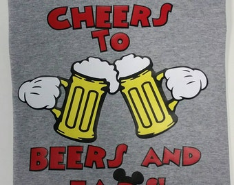 Epcot Disney World Drinking Around the World shirt /