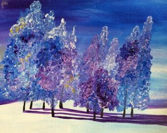 Winter trees #5