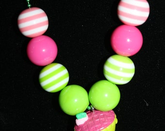 Shopkins Shy Pie/Cherry Pie Necklace