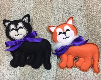 Kitty Cat Mascot Ornament