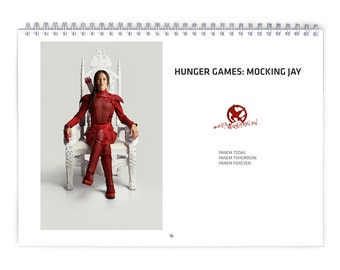 Hunger Games / Mockingjay Vol.2 - 2018 Calendar
