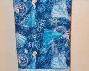 Frozen/Baby Blue Standard Pillowcase