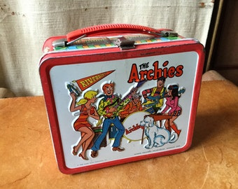 Vintage Archies Riverdale High Lunch Box! Groovy Jughead!