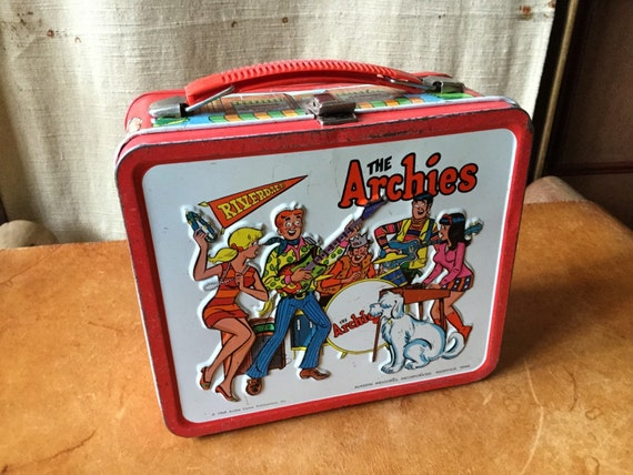 Vintage Archies Riverdale High Lunch Box