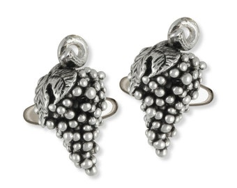 Grape Cufflinks Jewelry Sterling Silver  GPE1-CL