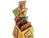 Yellow Circus pop-up card - good for all occasions - special occasion card - mile stone birthday - thank you - just because