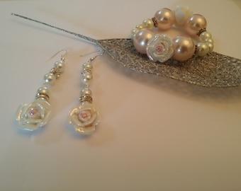 Romantic Rose jewelry set
