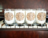 Custom Candle Wedding Shower Favors - Jess