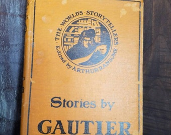 Stories by Gautier | Antique Book | Antique Edition