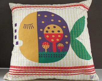 Childrens Cushion Cotton Linen Pillow