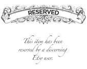 RESERVED for Roseann: Ruby and Diamond Band