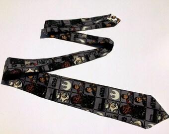 Star Wars Force Awakens Heroes Dark necktie