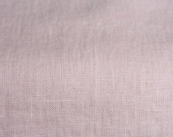 Pastel Pink Linen Fabric/Fabric by Half Yard/Linen Fabric/ Pink Linen/Baltic Linen/Softened Linen/Flax Fabric