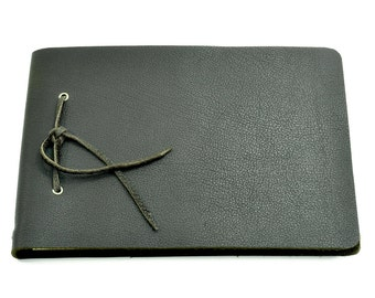Leather book diary - Buffalo Sketch Mocca - A5 - 200 Pages - sketch book of Vickys World