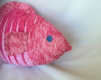 Tiger Fish, Stuffed Fish, Pinky