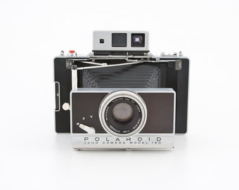 Polaroid Land Camera Model 180 with Filter kit and more - uses fuji 100c or 3000b pack film - Guaranteed working