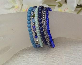 multi row bracelet