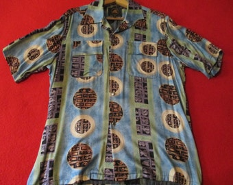 One vintage 1940 style hawaiian shirt
