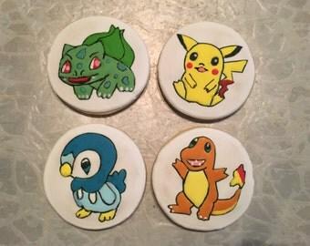 Pokemon Theme Cookies