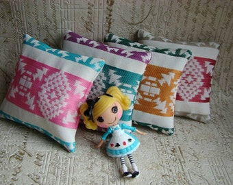 Ilovethatdoll  set of 4 doll cushions pillows - one set only