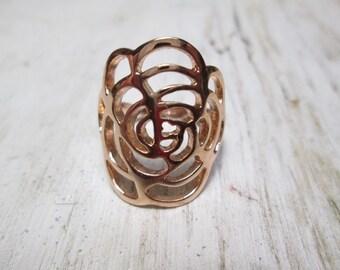 18kt gold filled ring, size 7