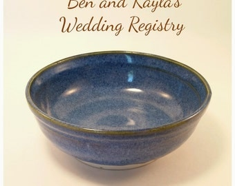 Wedding Registry Pottery Pasta Bowls; Handmade Pottery Pasta Bowls; Ceramic Bowls; Wedding Registry Pasta Bowls